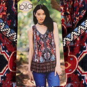 Bila BoHo Sleeveless Top